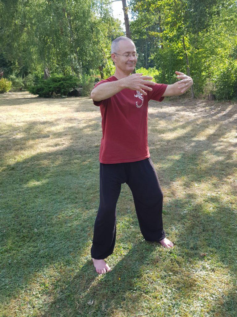 Posture méditative de Qigong