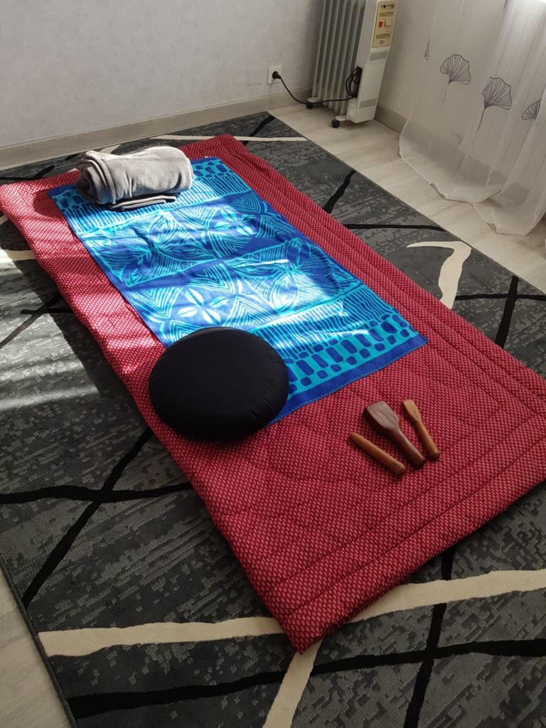 Massage Thaï Toksen au sol